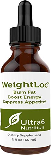 Weightloc Sublingual Drops for Suppressing Appetite, Boosting Energy and Enhancing Mood