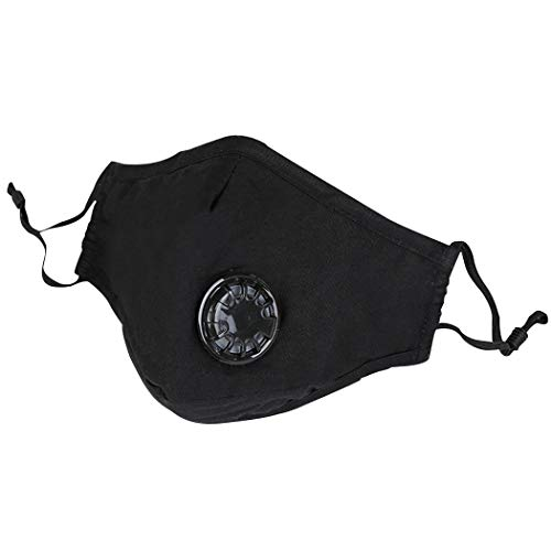 FunPa Máscaras Antipolvo Lavables Resistentes a la bruma Ventilar Algodón Máscaras Boca