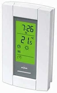 Honeywell/Aube TH115-A-240S Programmable Thermostat for Baseboards, convectors and fan-forced heaters. Backlit Display
