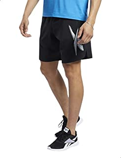 Reebok Workout Ready Woven Graphic Shorts For Men