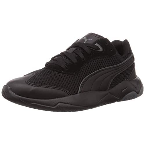 PUMA Ekstra, Sneakers Unisex-Adulto, Nero Black-Dark Shadow, 43 EU