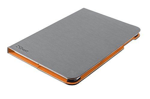 Trust 20228Schutzhülle für Tablet–Hülle für Tablets (Folio, grau, Apple, iPad Air 2, Staubresistent, Kratzresistent)