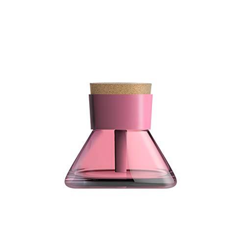 SKVVIDY Humidificador 200 ml Luz de Noche Aceite Esencial Aroma Difusor Humidificador Air Purifier Mini Máquina de Niebla Desktop Desktop Humidificador Coche (Color : Pink)