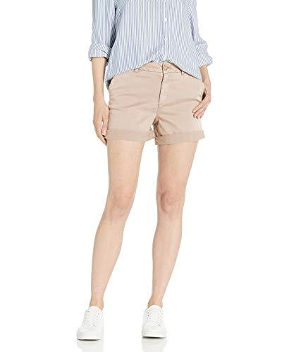 Goodthreads Chino Girlfriend Short shorts, Rosado(Vintage Pink), US 10 (EU M - L)