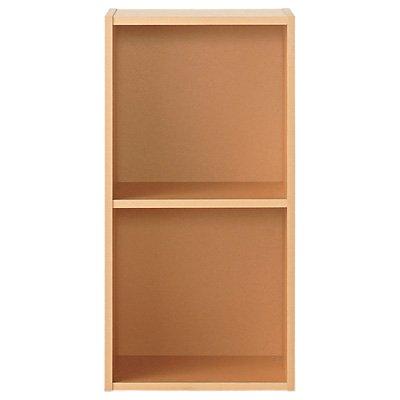 無印良品 パルプボードボックス・タテヨコA4サイズ・2段・ベージュ(2段)37.5×29×73cm 日...