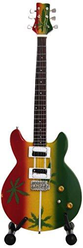 Mini Guitars MGT-0468 Marley Tribute Mini-Gitarre, Nachbildung, 8,5 x 27,5 x 1 cm, mehrfarbig