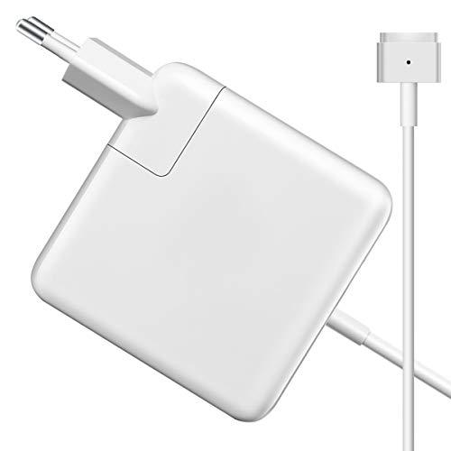 MacBook Pro Ladegerät 60W, Ersatz für MagSafe 2 60W/45W T-Tip Ladekabel für MacBook Air 11 Zoll und 13
