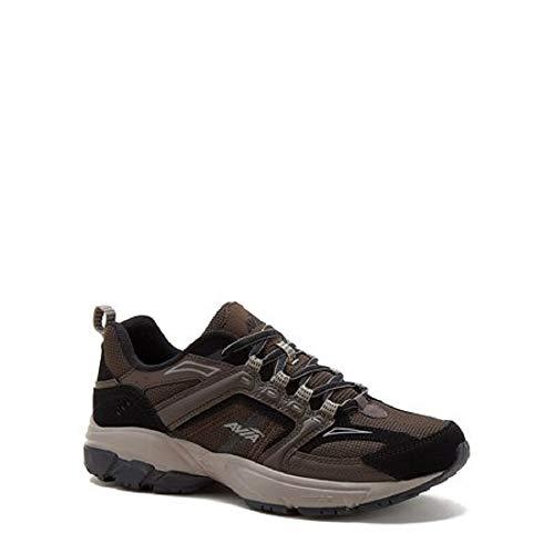 Avia Men's Jag Athletic Sneakers with Memory Foam Footbed (Brown) (7.5)