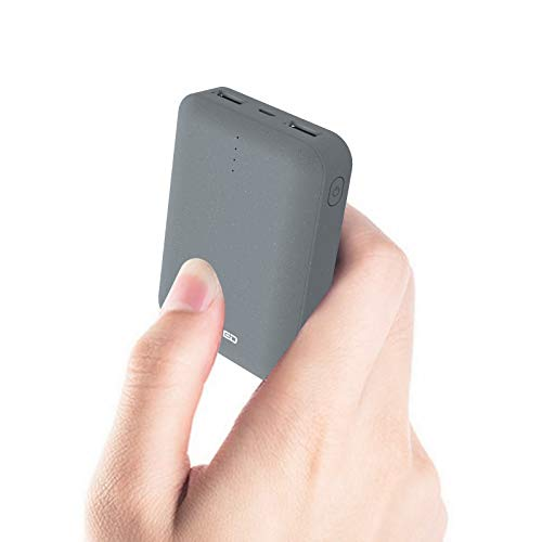 ockered Handy Powerbank 10000mAh, Mini Externer Akku mit Dual 2.4A Output Klein and Kompakt Portable Phone Charger, Tragbares Ladegerät mit USB für iPhone, Samsung,iPad,Nintendo Switch,und weitere