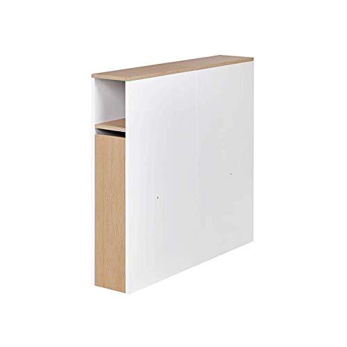 Alfred & Compagnie - Cabecero para cama (90 x 200 cm), color blanco