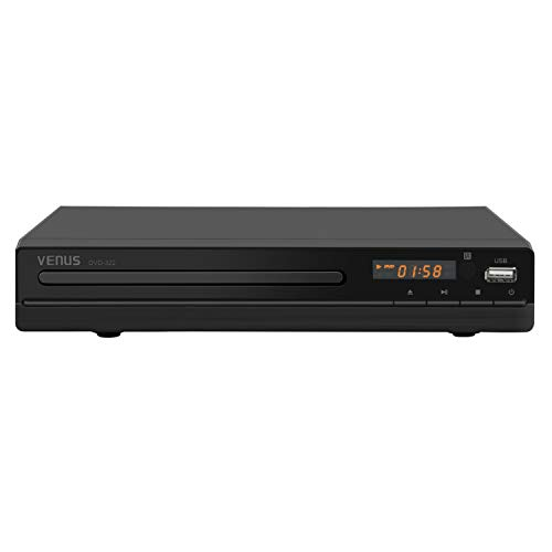 Read About DVD Player for TV with HDMI & AV Output , All Region Free DVD CD Discs Player , HD1080P S...