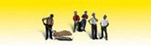 Woodland Scenics N Scale Scenic Accents One Man Crew by WOODLAND SCENICS