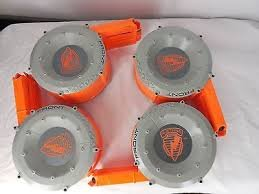 NERF 35-Dart Capacity Drum (Includes 4 Drums)