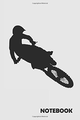 NOTEBOOK: Motocross Bike: Notizbuch / Notebook / Journal / Taschenbuch Geschenk (6 x 9 Zoll - 110 Seiten - liniert) Notebook, Notizblock, Bloc-notes, Bloc de notas, Blocco note