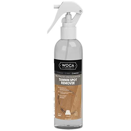 Woca Gerbsäureflecken Spray 0,25 Liter Sprühflasche für geölte, gewachste Holzoberflächen aus Eiche