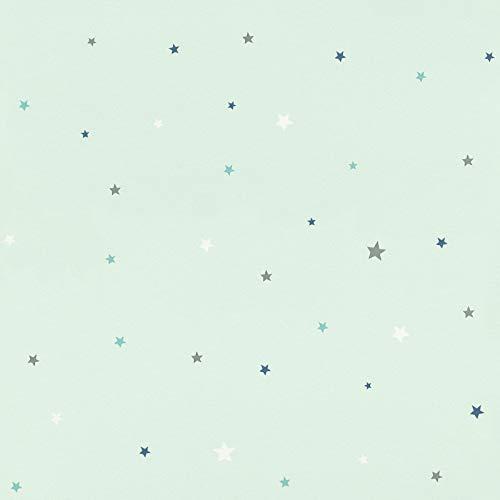 Rasch Tapeten Papiertapete (kindgerecht) Grün 10,05 m x 0,53 m Bambino XVIII 245240 Tapete