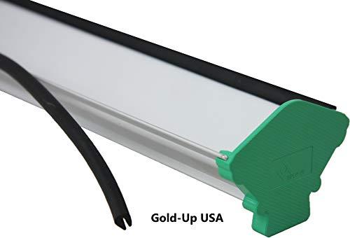 Dual Edge Aluminum Emulsion Scoop Coater for Screen Printing Coating Tool (16 Inch )