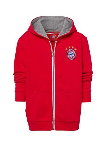 FC Bayern München Kapuzenjacke Classic Kids rot, 152