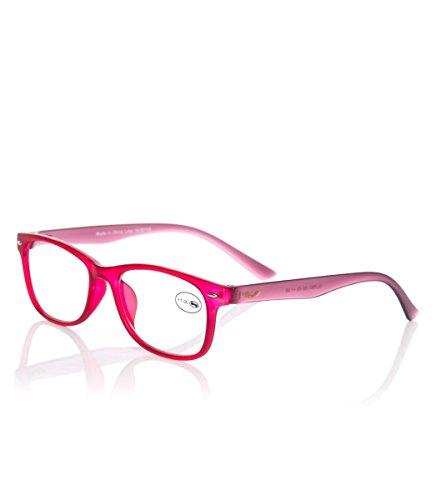 Starlite Universe Unisex-Erwachsene Gafas de lectura Seaside Antonio Banderas, rosa Brillengestelle, Pink, 55
