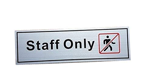 Staff ONLY Sign...