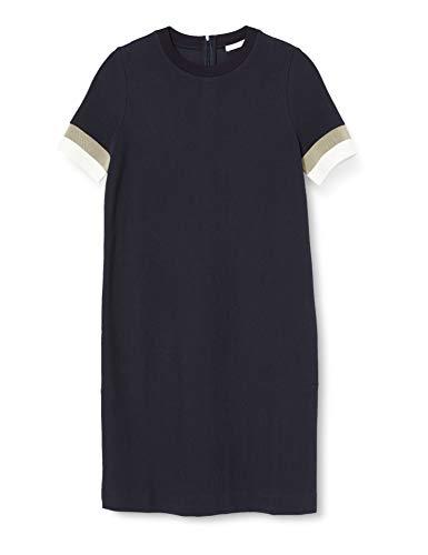 BOSS Womens Dastriped Casual Dress, Open Blue (466), M