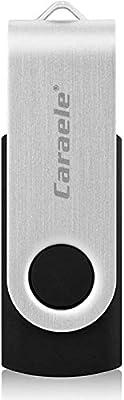 Caraele 512GB USB Flash Drive 2.0, USB Stick Thumb Drive Rotated Design, Memory Stick for PC/Laptop/External Storage Data (512GB, Black)