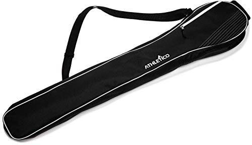 Athletico Lacrosse Stick Bag - Lax Equipment Bags for Boys or Girls, Kids & Youth (Black)