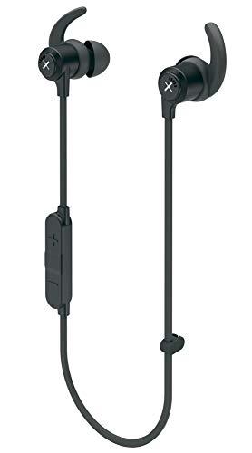 Kygo Xelerate In-Ear Bluetooth Sportkopfhörer (Bluetooth 5.0, bis zu 8 h Wiedergabe, Schnellladefunktion, IPX5 Wasserfest, Mikrofon, AAC und aptX Sound) Schwarz