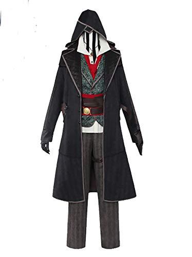 Uwowo Disfraz de asesino de Jacob Frye para cosplay de Assassin's Creed