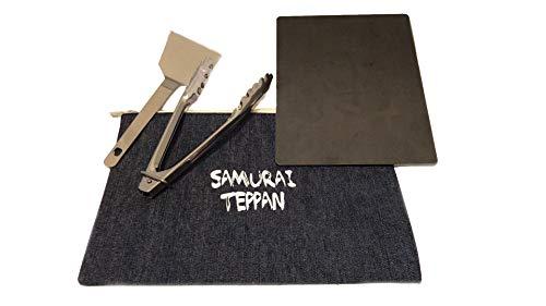 サムライテッパン SUMRAI TEPPAN 極厚アウトドア鉄板 A5サイズ 厚さ4.5mm