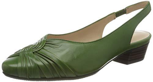 Gerry Weber Shoes Damen Pistoia 02 Slingback Sandalen, Grün (Grün 600), 38 EU