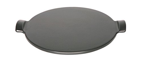 Emile Henry Made In France Flame Individual Pizza Stone, 10', Charcoal