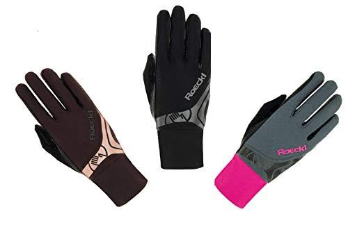 Roeckl Sports Roeck Melbourne Handschuh, Unisex, Reithandschuhe, Touchscreen, Mokka 8