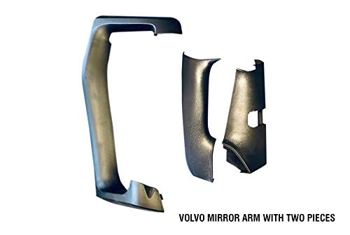IMS auto parts Volvo Vnl Vn Truck Mirror Arm Cover Assembly with Two Pieces Right Passenger Side 2014 to 2018
