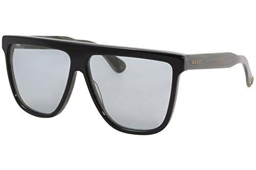 Gucci Gafas de sol GG0582S 004 Gafas de sol hombre color Negro azul tamaño de lente 61 mm