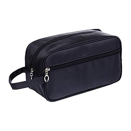 QFERW Étui à cosmétiques Sac à cosmétiques pour Les organisateurs de cosmétiques Voyage Nécessaire Étanche Dames Cas Pack Up The Wash Bags, Noir