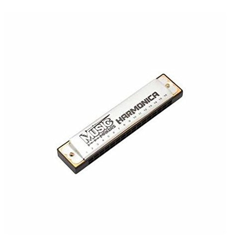 Music Makers Harmonica Silver by Musicmakers