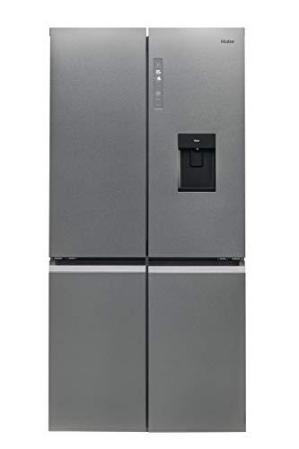 Haier HTF-520WP7 CUBE Serie Kühl-Gefrier-Kombination / Multidoor / Edelstahl-Front / Wasserspender / Festwasseranschluß / ABT / MyZone / Humidity Zone / Total No Frost