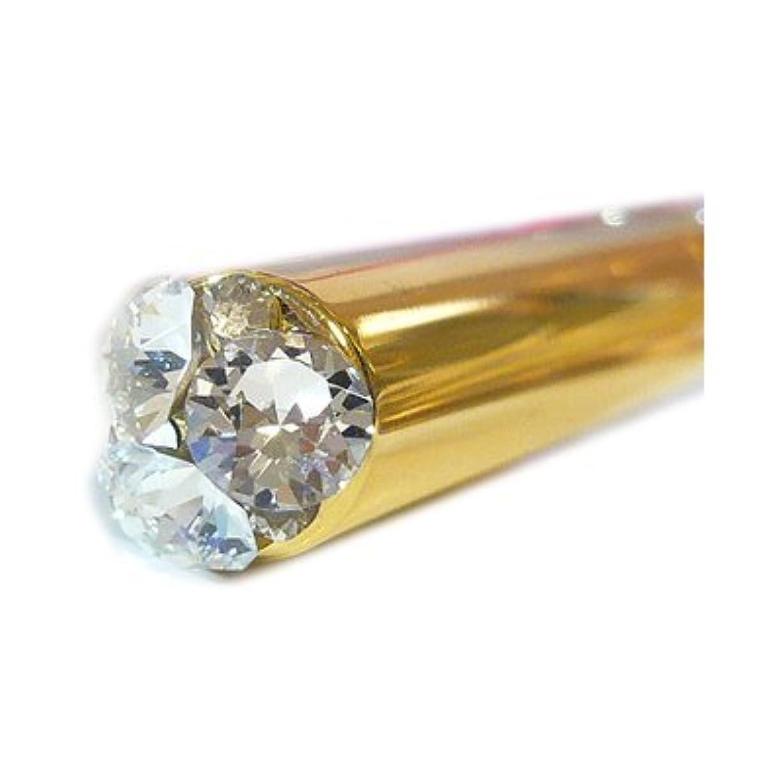 定常表示トンアトマイザー ロールオン 香水 詰め替え 『present bijou』 GD スティックアトマイザー (ゴールド ? メタル) / スワロフスキー クリスタル/ビジューポイント/携帯性?遮光性?保香性 [DTG]