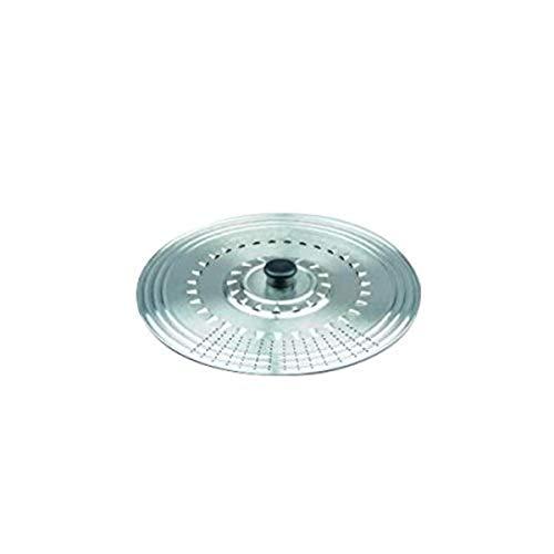 Ibili Prisma - Tapa multiuso, inox, 14-16-18 cm