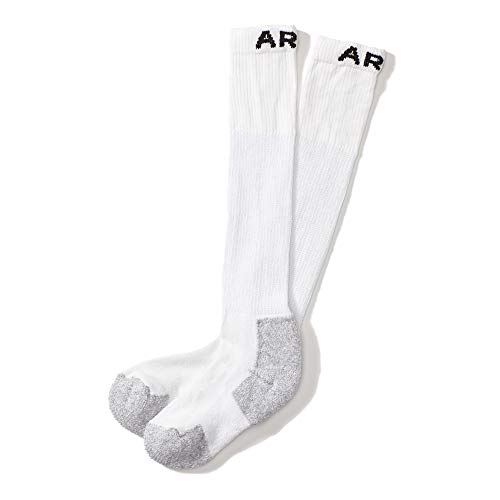 Ariat Men's Over The Calf 3-Pack Sock, white, Extra Large