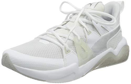 PUMA 194362, Zapatillas para Correr de Carretera Mujer, Blanco Plata Gris Violeta, 36 EU