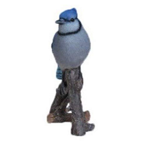 Hi-Line Gift Ltd Blue Jay on Branch Statue