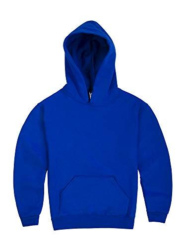 Jerzees boys Fleece Sweatshirts, Hoodies & Sweatpants Hooded Sweatshirt, Hoodie - Royal Blue, Large US