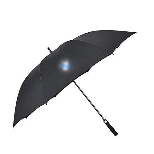 Car Travel Paraplu, Paraplu ergonomische handgreep, Paraplu met auto Logo,B_mw