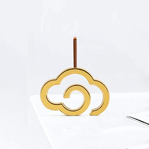 Quemador de Incienso Bandeja de incienso enchufe de línea de incienso quemador de incienso Pequeño Hogar Mini Disc incienso rack Creative Zen Decoración Xiangyun incienso Plug Soporte de Incienso