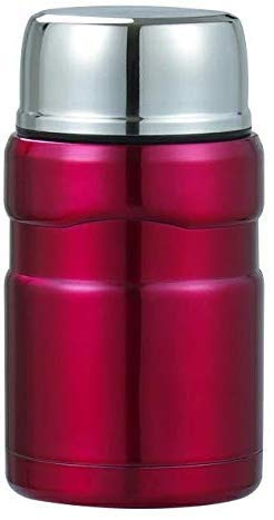 Thermos Cup creatieve draagbare student gestoofde pot roestvrij staal fles Thermos isolatie Cup lunch pap soep potten voedsel container/rood