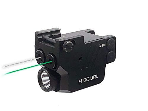 HiLight H10GLIRL 500lm Strobe Flashlight Green Laser...