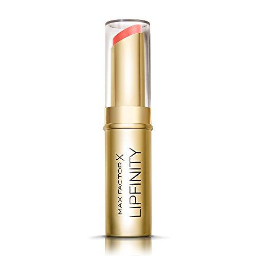 Max Factor Lipfinity Long Lasting Lipstick Ever Sumptous 25 – Feuchtigkeitsspendender Matt-Lippenstift mit bis zu 8h Halt & starker Deckkraft - in Koralle