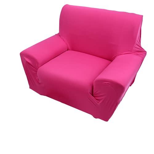 Funda de sofá, Funda de sofá individual 92% poliéster - Funda de sofá 8% Material de fibra de poliuretano para oficina (rojo)
